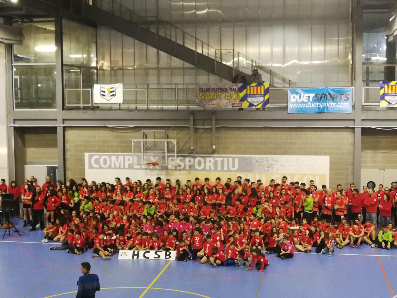 Presentació dels equips del club 2018