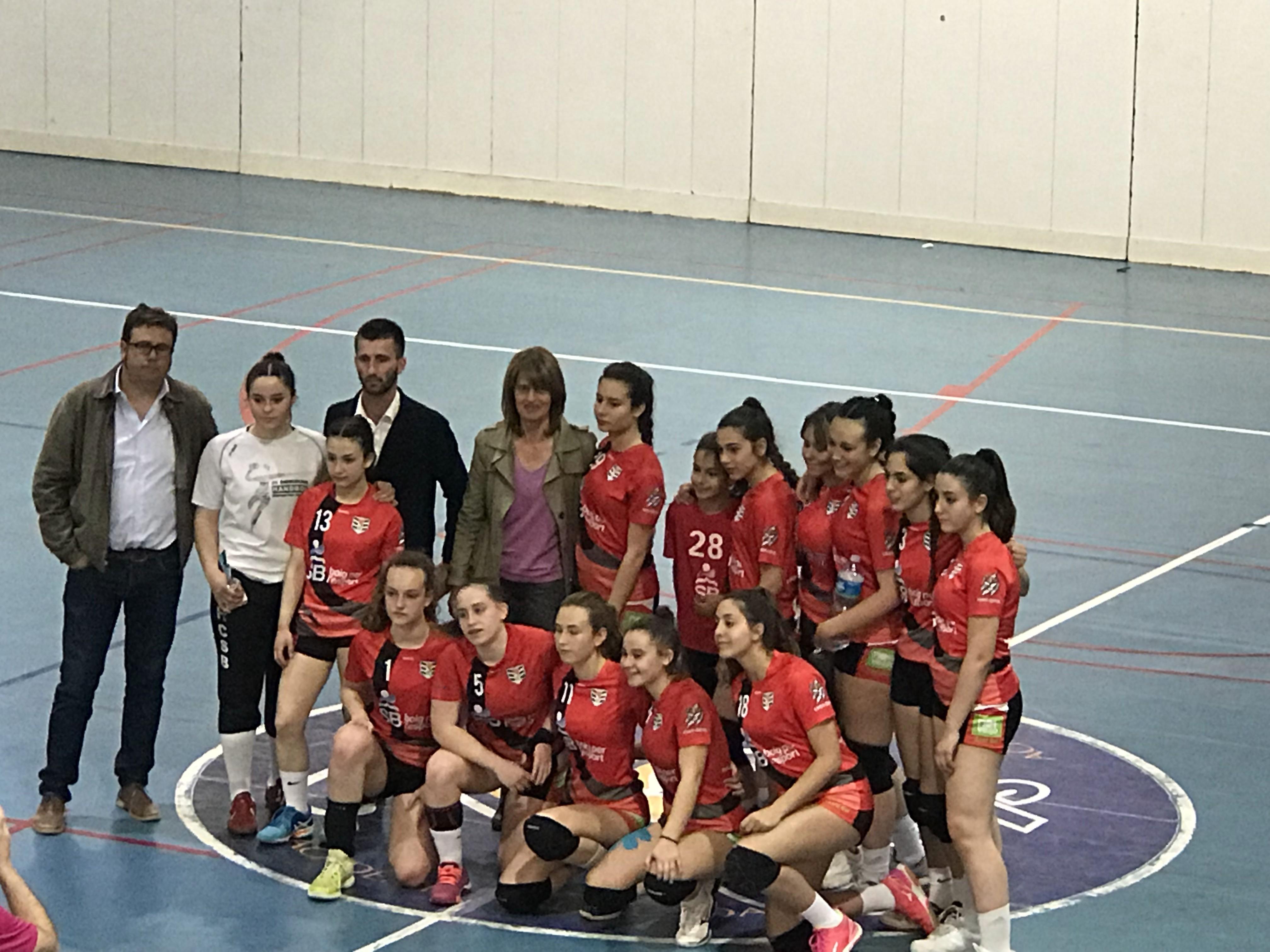 El Cadet Femení aconsegueix la segona plaça al Top4 de Primera Catalana