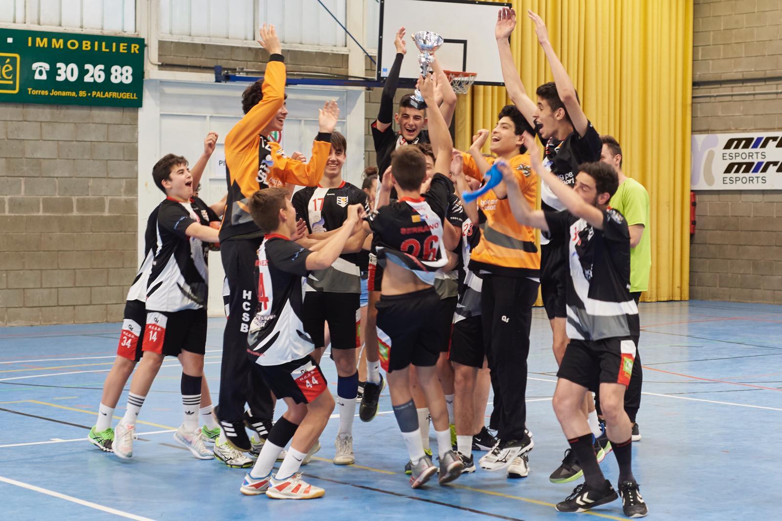 El Cadet Masculí B es proclama campió de Segona Catalana